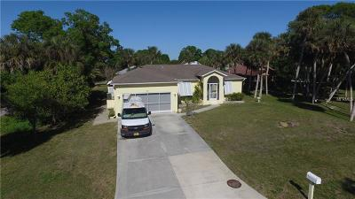 Venice Single Family Home For Sale: 4061 Pompano Road