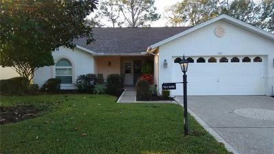 Hernando County Single Family Home For Sale: 7261 Sugarbush Drive