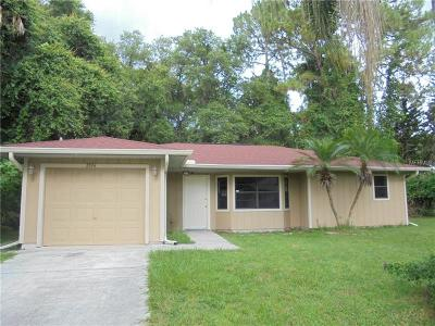 Englewood, North Port Single Family Home For Sale: 2074 Briant Street