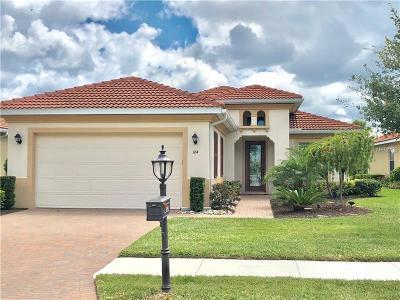 Single Family Home For Sale: 164 Pesaro Drive