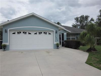 North Port Single Family Home For Sale: 7439 Rockwell Avenue