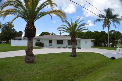 Venice Single Family Home For Sale: 4378 Pompano Road