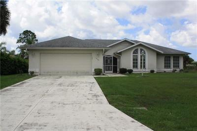 Port Charlotte Single Family Home For Sale: 14187 Pittenger Avenue