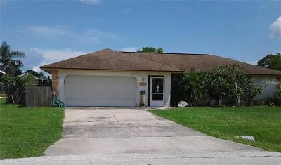 Port Charlotte Single Family Home For Sale: 20423 Albury Drive