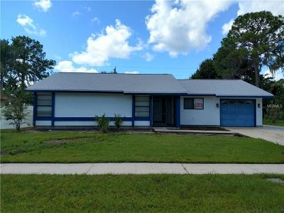 North Port Single Family Home For Sale: 5651 Talbrook Road