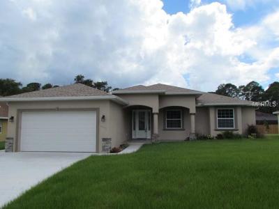 Single Family Home For Sale: 3631 Roderigo Avenue