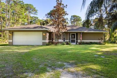 North Port Single Family Home For Sale: 3311 Delor Avenue