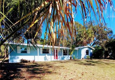 Nokomis Single Family Home For Sale: 201 Palmetto Road E