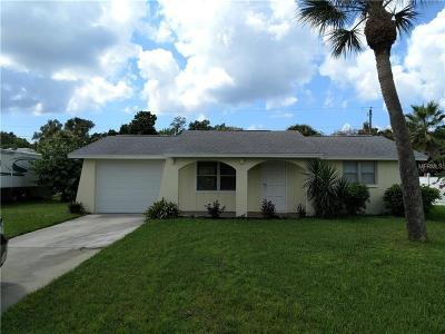 Venice Single Family Home For Sale: 2734 Gentian Road