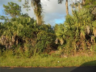 North Port Residential Lots & Land For Sale: Squaw Lane