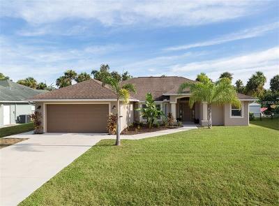 North Port Single Family Home For Sale: 4540 Merriam Lane