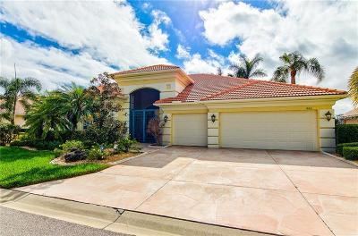 Venice Single Family Home For Sale: 866 Macaw Circle
