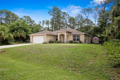 North Port Single Family Home For Sale: 4398 Cobbler Lane