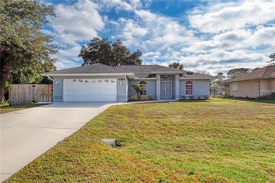 North Port Single Family Home For Sale: 4484 S Salford Boulevard