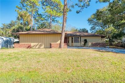 Venice Single Family Home For Sale: 3207 Fallow Road