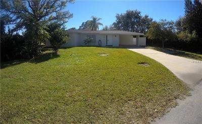 North Port Single Family Home For Sale: 308 Granada Blvd