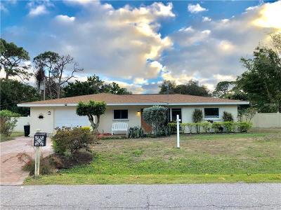 Venice Single Family Home For Sale: 391 Marquette Road