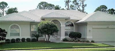 Venice Single Family Home For Sale: 629 Sawgrass Bridge Road