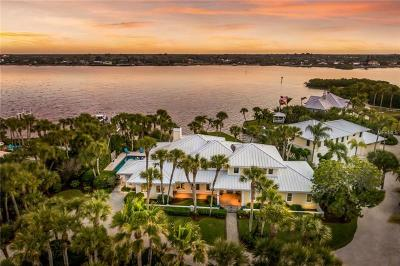 Osprey, Nokomis Single Family Home For Sale: 1906 Casey Key Road