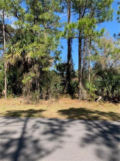North Port Residential Lots & Land For Sale: Mojave Avenue