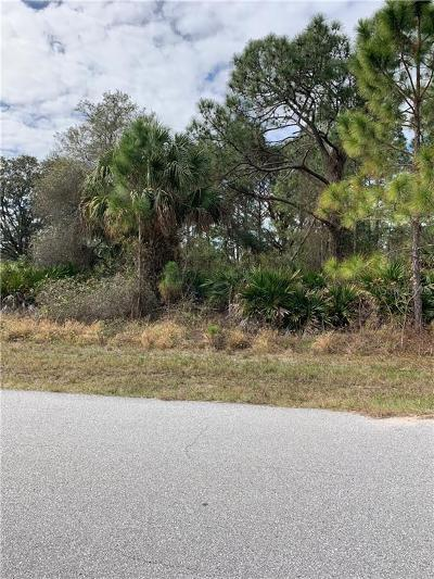 North Port Residential Lots & Land For Sale: Bathfeld Road