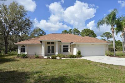 North Port Single Family Home For Sale: 2705 San Maria Circle