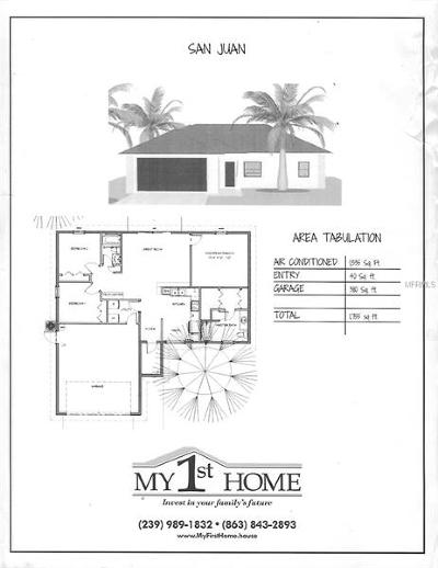 North Port Single Family Home For Sale: 00 Mojave Avenue