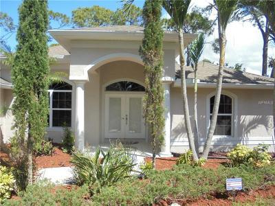 Venice Single Family Home For Sale: 548 Urbana Road