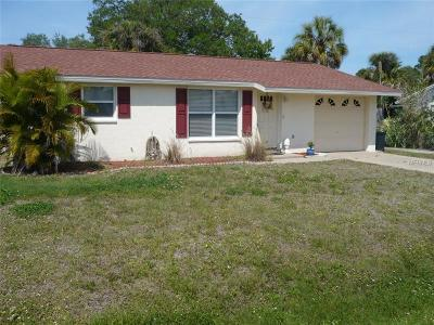 South Venice Single Family Home For Sale: 5050 Florida Road