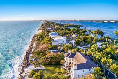 Nokomis, Osprey Single Family Home For Sale: 4009 Casey Key Road