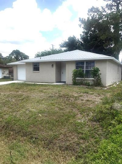Venice Single Family Home For Sale: 5771 Osprey Road