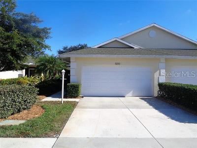 Venice Single Family Home For Sale: 1011 Auburn Cove Circle