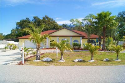 Venice Single Family Home For Sale: 2031 Scenic Drive
