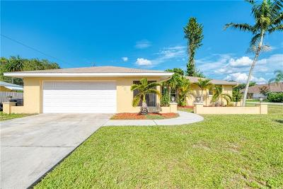 Venice Single Family Home For Sale: 4631 Crystal Road