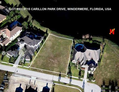 Windermere Residential Lots & Land For Sale: 9715 Carillon Park Drive
