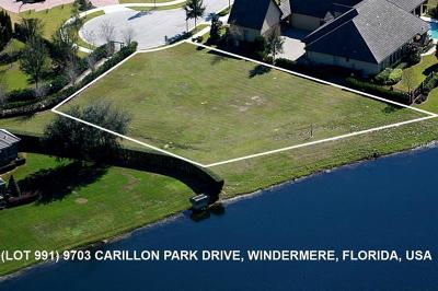Windermere Residential Lots & Land For Sale: 9703 Carillon Park Drive