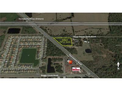 Residential Lots & Land For Sale: 14781 Narcoossee Road