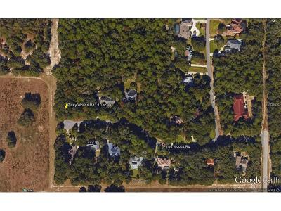 Apopka Residential Lots & Land For Sale: Piney Woods Road