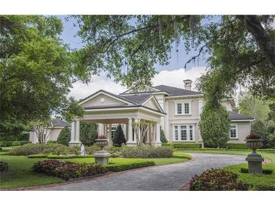 Windermere Single Family Home For Sale: 5318 Isleworth Country Club Drive