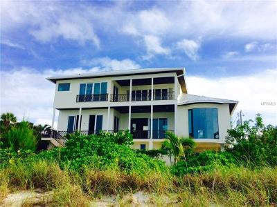 Nokomis Single Family Home For Sale: 3801 Casey Key Road