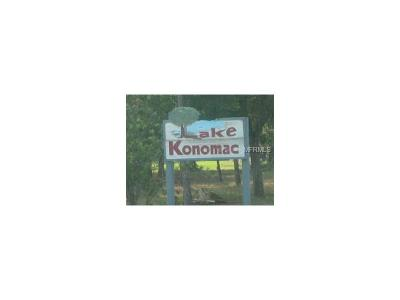 Debary Residential Lots & Land For Sale: 547 Konomac Lake Drive