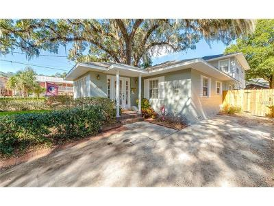 Orlando Single Family Home For Sale: 1303 E Central Boulevard