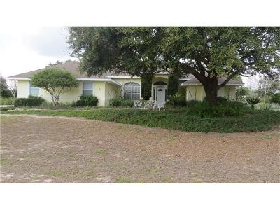 Clermont Single Family Home For Sale: 8445 Bailey Drive