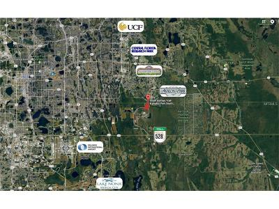 Residential Lots & Land For Sale: S Alafaya Trail