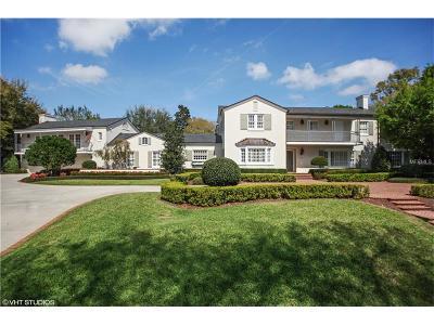 Orlando FL Single Family Home For Sale: $1,999,000