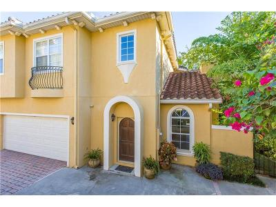 Winter Park Townhouse For Sale: 1261 Arlington Place