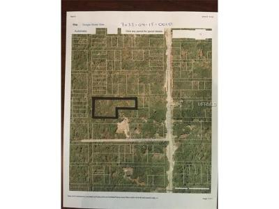 Orange City Residential Lots & Land For Sale: No Name
