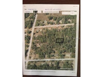 Orange City Residential Lots & Land For Sale: Cora Paper Avenue