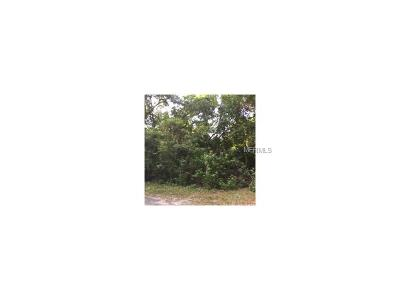 Deltona FL Residential Lots & Land For Sale: $99,499