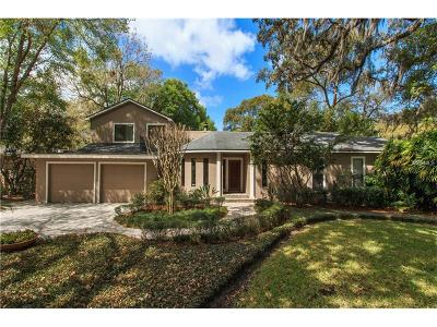 Winter Park Single Family Home For Sale: 1621 Hillcrest Avenue